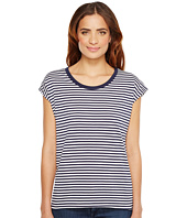 MICHAEL Michael Kors - Stripe Elliptical Hem Top