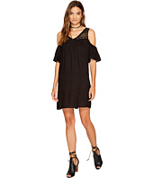 Jack by BB Dakota - Dunbar Rayon Crepe with Lace Yoke Dress
