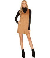 Jack by BB Dakota - Coyle Drapey Faux Suede Dress