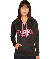 Rock and Roll Cowgirl - Long Sleeve Pullover Hoodie 48H3557