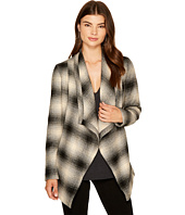 Jack by BB Dakota - Mower Light Plaid Drape-Front Wrap Jacket