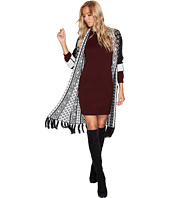 Jack by BB Dakota - Johnston Intarsia Duster with Fringe