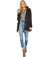 Jack by BB Dakota - Medici Microfiber Fur Trimmed Coat