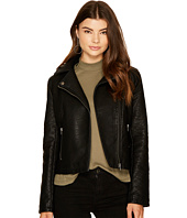 Jack by BB Dakota - Willis Heavy Rippled PU Moto Jacket