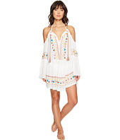Nanette Lepore - African Crinkle Gauze Peasant Tunic Cover-Up