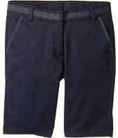 Nautica Kids - Twill Skinny Bermuda Shorts (Big Kids)