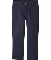 Nautica Kids - Regular Flat Front Twill Double Knee Pants (Little Kids/Big Kids)