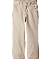 Nautica Kids - Slim Flat Front Twill Double Knee Pant (Little Kids/Big Kids)