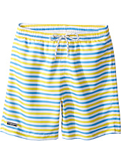 Toobydoo - Blue & Yellow Stripe Swimsuit - Short (Infant/Toddler/Little Kids/Big Kids)