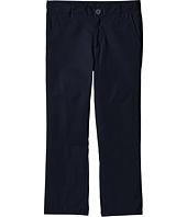 Nautica Kids - Husky Flat Front Twill Double Knee Pants (Big Kids)