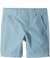 Toobydoo - Steel Blue Chino Shorts (Infant/Toddler/Little Kids/Big Kids)