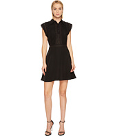 The Kooples - Polo Style Sleeveless Dress with Frilly Sleeves
