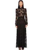 Francesco Scognamiglio - Long Sleeve Lace Gown