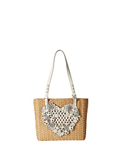 Brighton - Wyld Heart Straw Tote