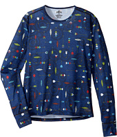 Hot Chillys Kids - Midweight Print Crew (Little Kids/Big Kids)