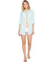 Kenneth Cole - City Covers Collared Shirtdress Cover-Up