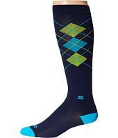 Zensah - Fresh Legs Classic Argyle Compression Socks