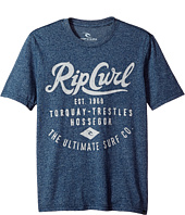 Rip Curl Kids - Era Mock Twist Tee (Big Kids)