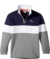 PUMA Golf Kids - PWRWarm JR 1/4 Zip (Big Kids)