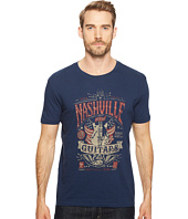Lucky Brand - Nashville Guitar Flag Graphic Tee
