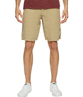 Lucky Brand - Linen Flat Front Shorts