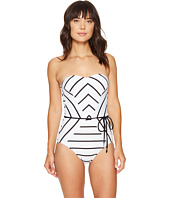 Seafolly - Castaway Stripe Bandeau Maillot One-Piece