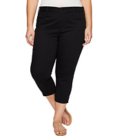 NYDJ Plus Size - Plus Size Alina Capris in Black