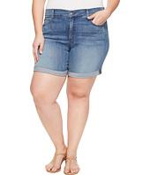 NYDJ Plus Size - Plue Size Jessica Boyfriend Shorts in Paloma Rips