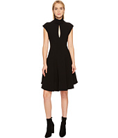Neil Barrett - Light Crepe Str. Cap Sleeve Dress