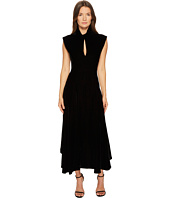 Neil Barrett - Velvet Cap Sleeve Dress
