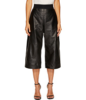 Neil Barrett - Nappa Leather Wide Leg Pants