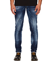 DSQUARED2 - Field Flower Wash Slim Jeans in Blue
