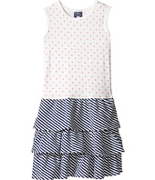 Toobydoo - Little Heart Ruffle Tank Dress (Toddler/Little Kids/Big Kids)