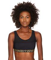 Versace - Active Mesh Logo Brassiere Top