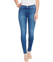 Hudson - Barbara High Waist Super Skinny Ankle Five-Pocket Jeans in Blue Riot