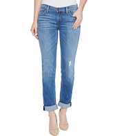 Hudson - Tally Cropped Skinny Five-Pocket Jeans in Intruder