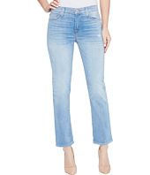 Hudson - Zoeey Mid-Rise Crop Straight Five-Pocket Jeans in Aura