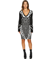 Just Cavalli - Tribal Knit Long Sleeve Dress