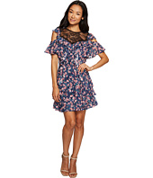 Rebecca Taylor - Open Shoulder Tea Rose Dress