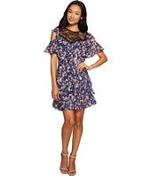Rebecca Taylor - Open Shoulder Tea Rose Dress