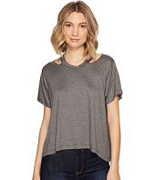 Nicole Miller - Riley Jersey Cut Out Shirt