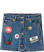 Kate Spade New York Kids - Patched Denim Skirt (Toddler/Little Kids)