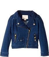 Kate Spade New York Kids - Knit Moto Jacket (Toddler/Little Kids)