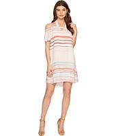 1.STATE - Halter Cold Shoulder Shift Dress