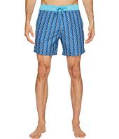 Mr. Swim - Zigzag Printed Chuck Boardshorts