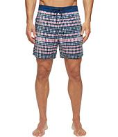 Mr. Swim - Flat Plaid Printed Chuck Boardshorts