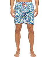 Mr. Swim - Lace Floral Printed Dale Swim Trunk
