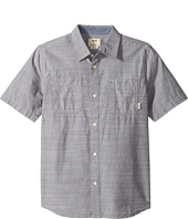 Vans Kids - Guilder IV Short Sleeve Woven Shirt (Big Kids)