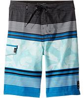 Vans Kids - Bonsai Stripe Boardshorts (Little Kids/Big Kids)