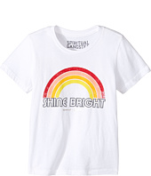 Spiritual Gangster Kids - Retro Rainbow Tee (Toddler/Little Kids/Big Kids)